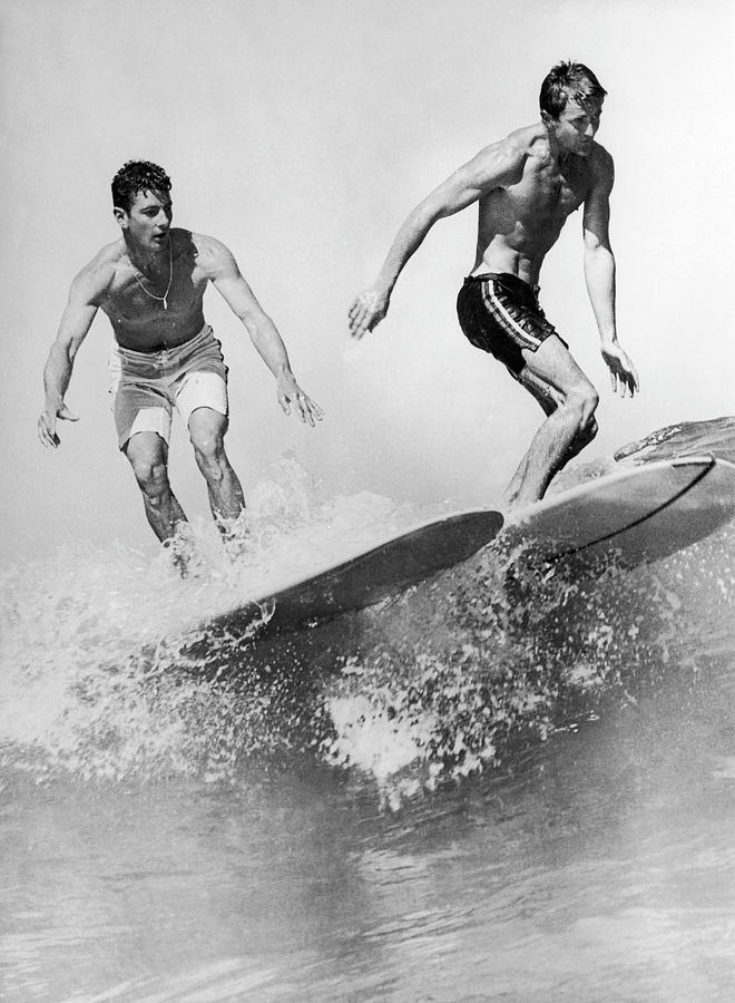Surf Board With Super-slick 1961 Photograph by Keystone-france