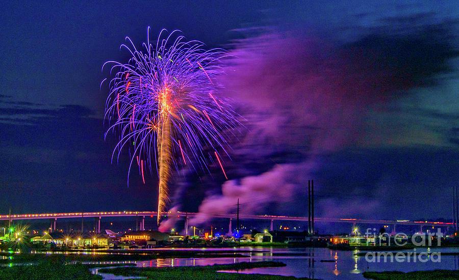 Surf City Fireworks 2019-1 by DJA Images
