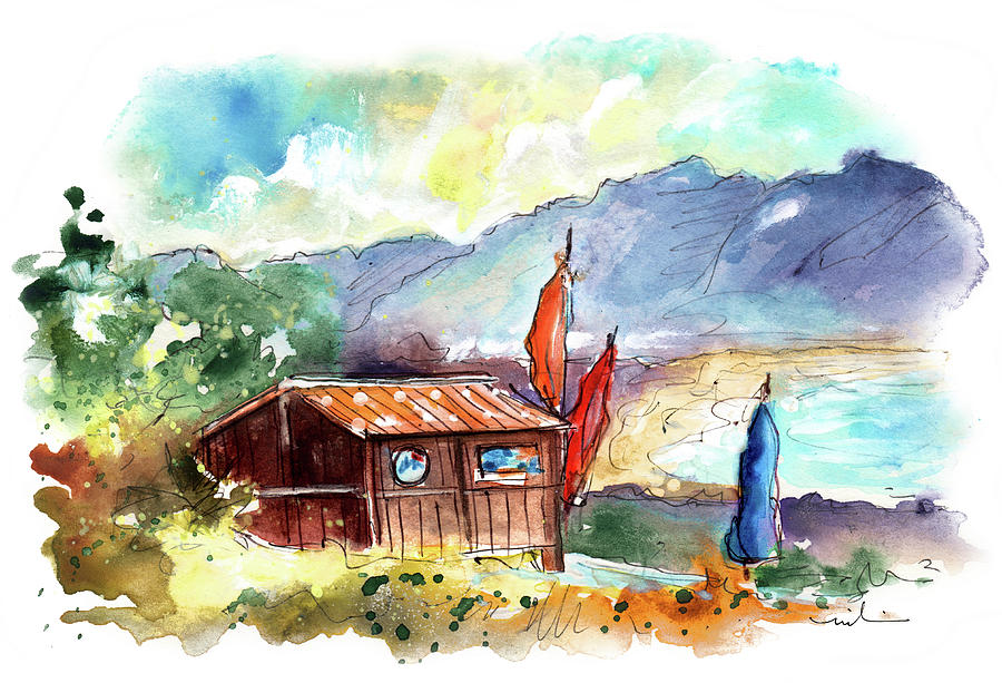 Surf School In O Ancoradeiro In Galicia 02 by Miki De Goodaboom