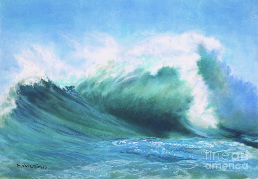 Surf Symphony by Elaine Jones