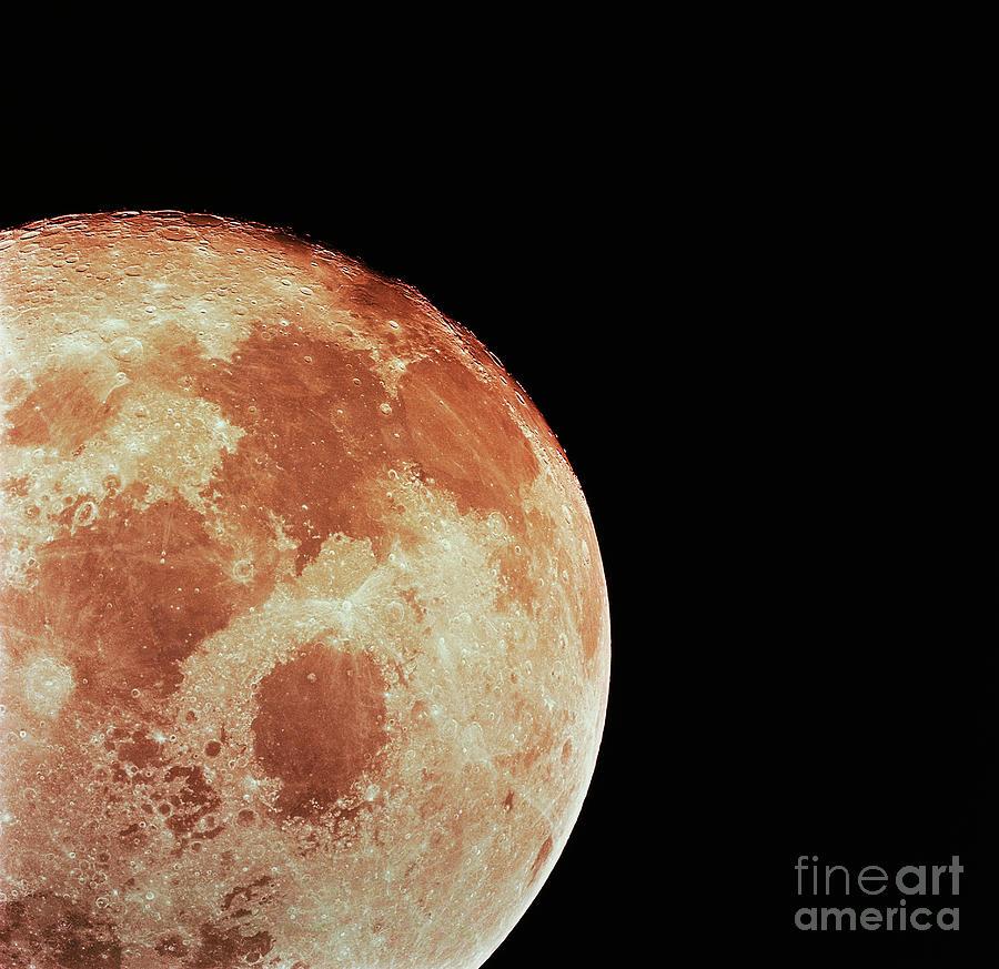 Surface Of Moon Photograph by Bettmann