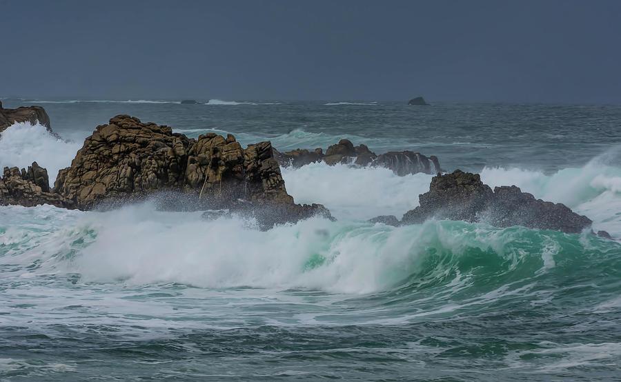 Surfer Waves by Patti Raine