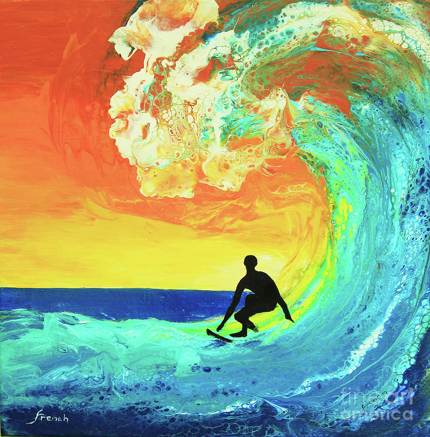 Surfing the Wave by Jeanette French