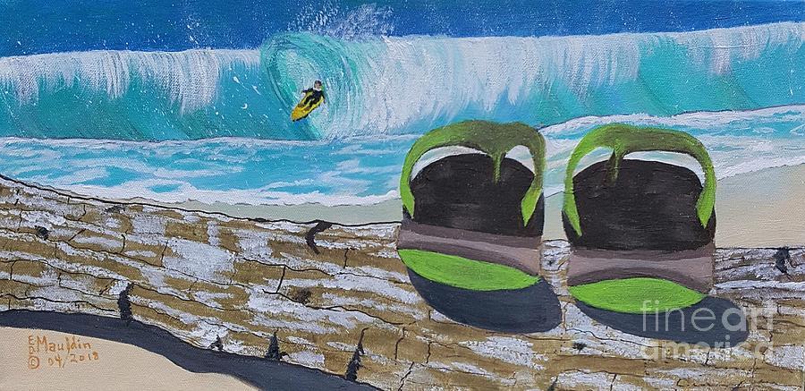 Surf's Up, Sandals Down by Elizabeth Dale Mauldin