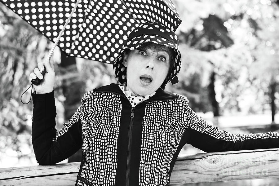 Black And White Photograph - Surprise by Paola Baroni