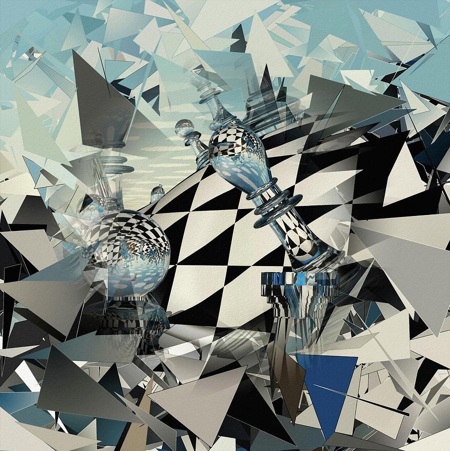 Surreal Chess Digital Art