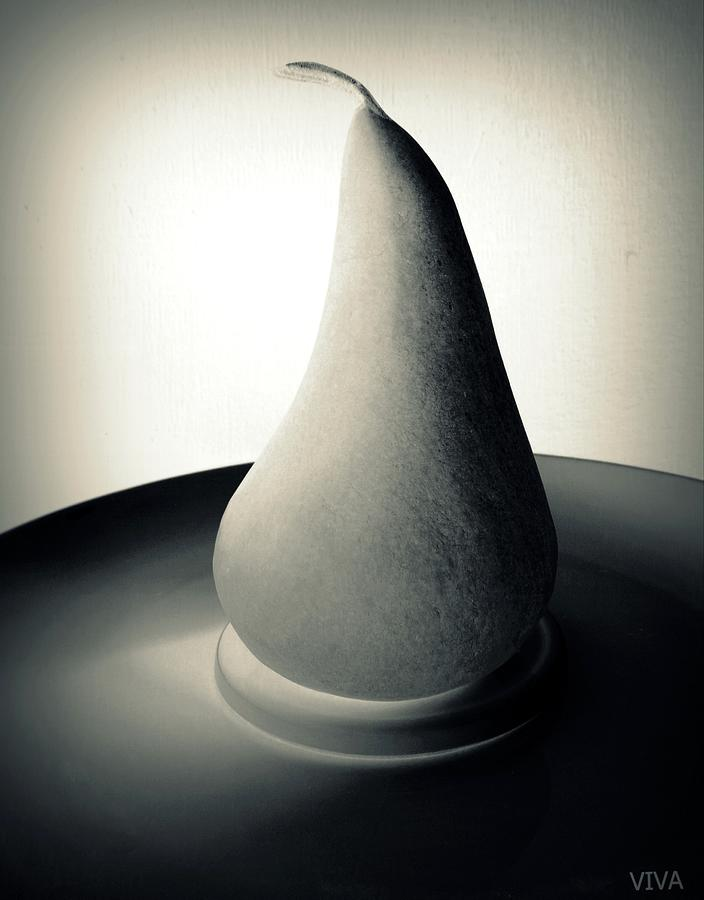 Surreal Gray Pear by VIVA Anderson