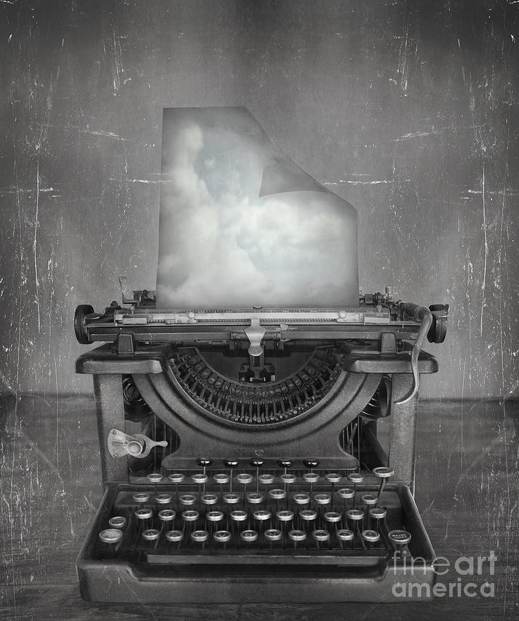 Idea Photograph - Surreal Imagine In Black And White Of A by Valentina Photos