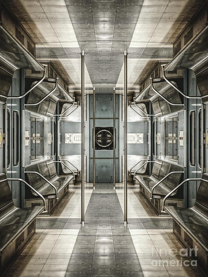 Surreal Subway Seats by Phil Perkins
