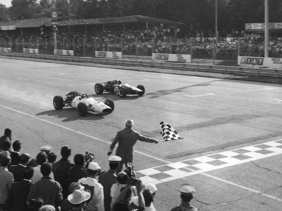 Surtees Wins At Monza Photograph by Keystone