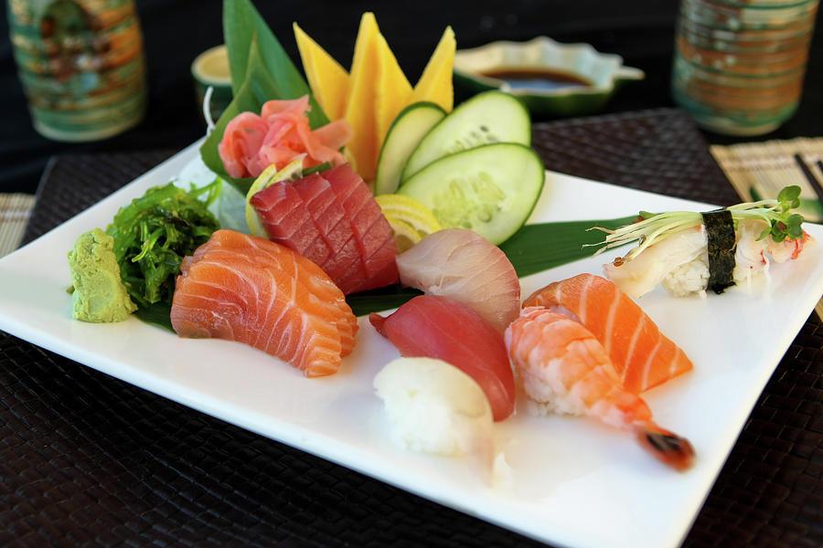 Sushi Photograph by Adrlnjunkie