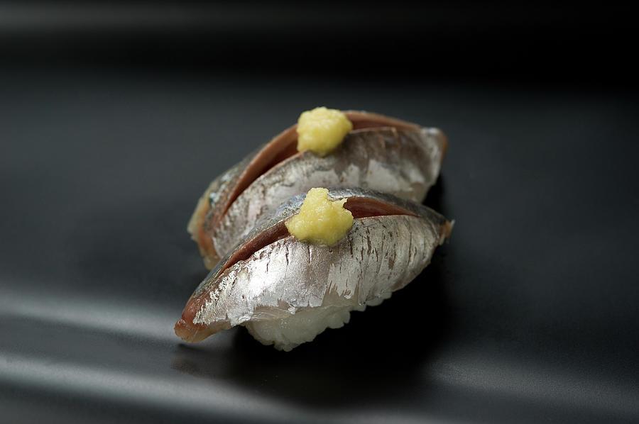 Sushi Aji Photograph by Ryouchin