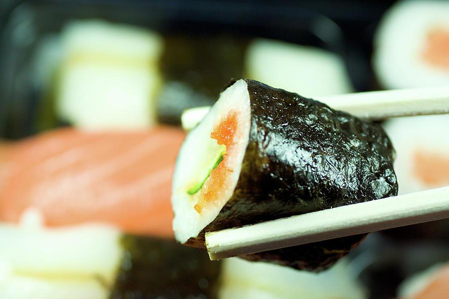 Sushi Photograph by Ra-photos