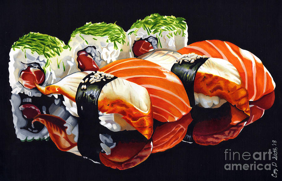 SUSHI TIME by Cory Still