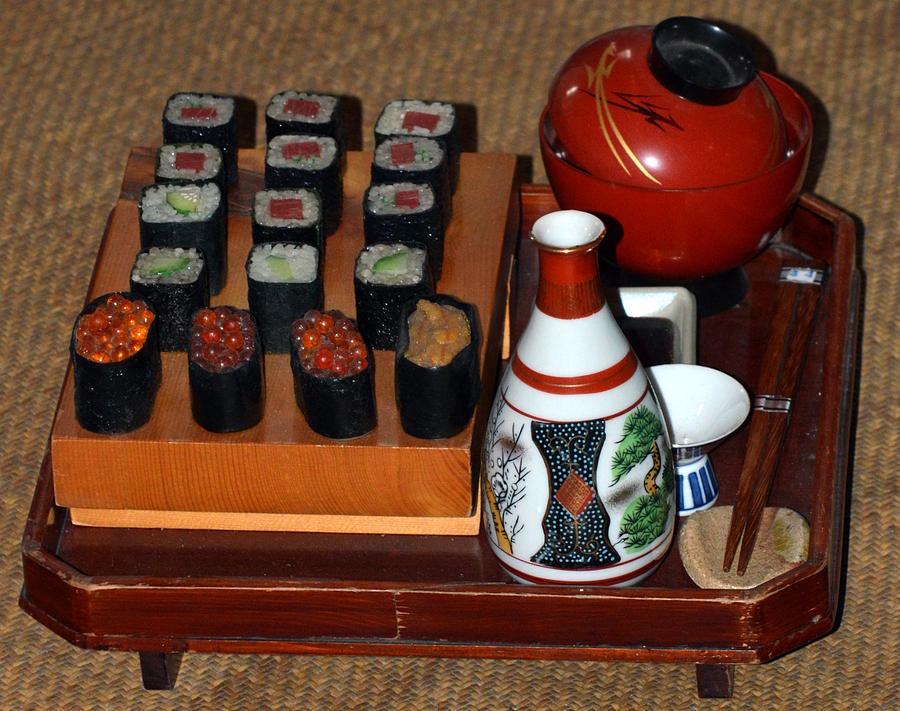 Sushi to Sake by Kimberly-Ann Talbert