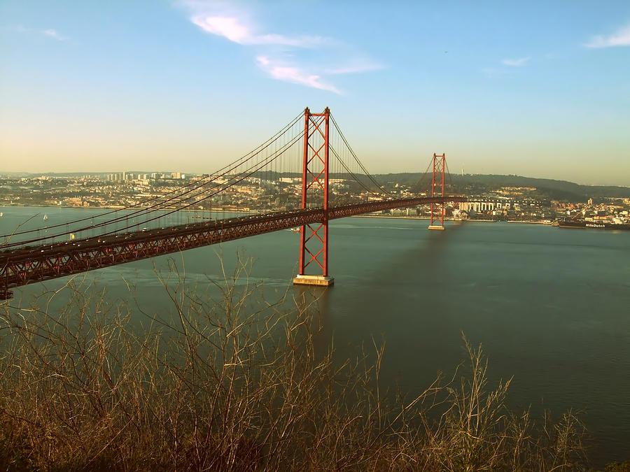 Suspension Bridge Photograph by Nuno Santos