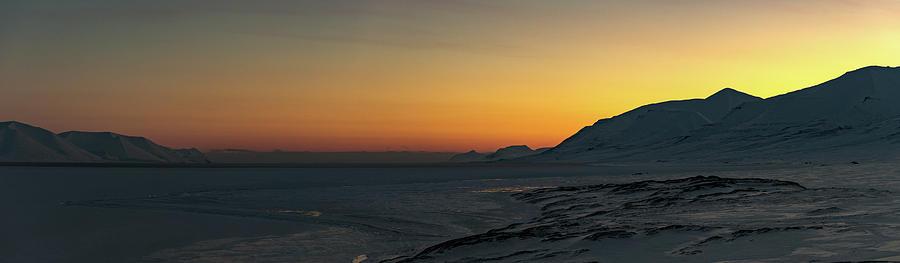 Svalbard during Sunset by Kai Mueller