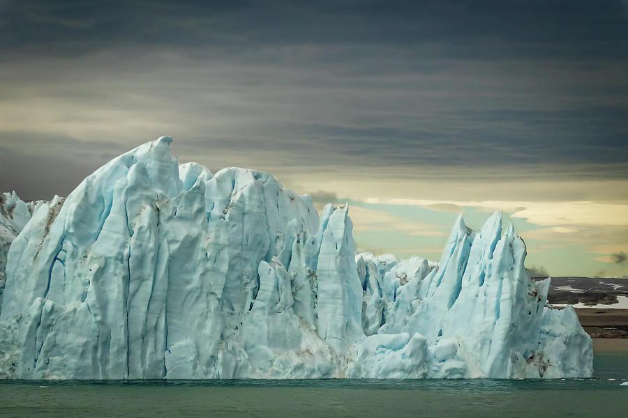 Svalbard, Norway iceberg 2 by Steven Upton
