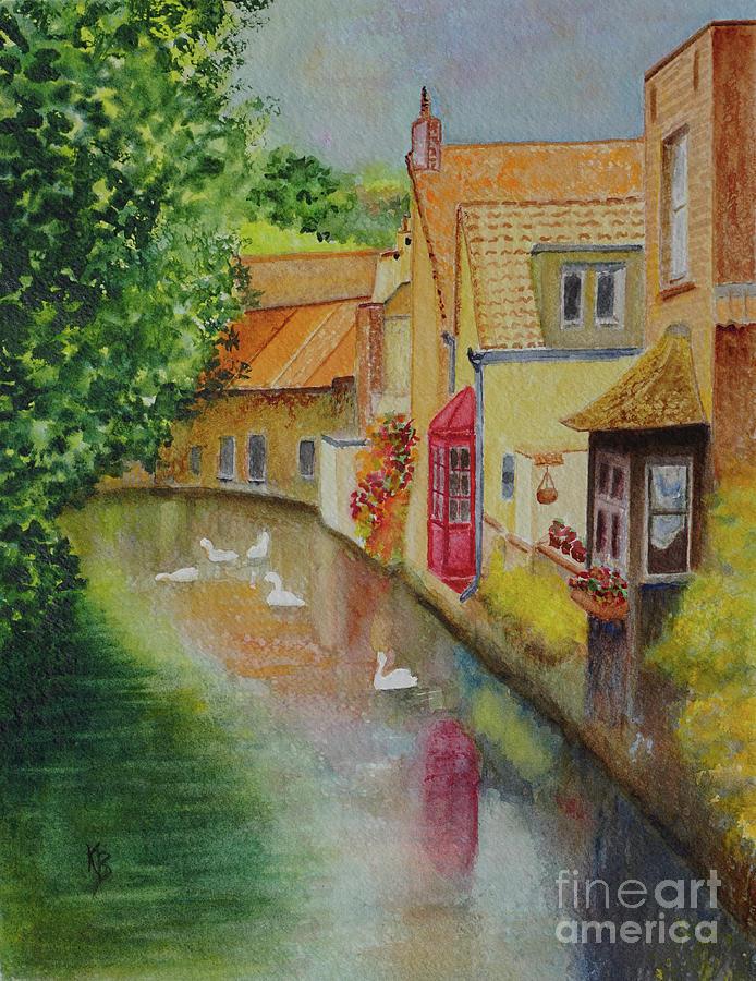 Swan Canal by Karen Fleschler