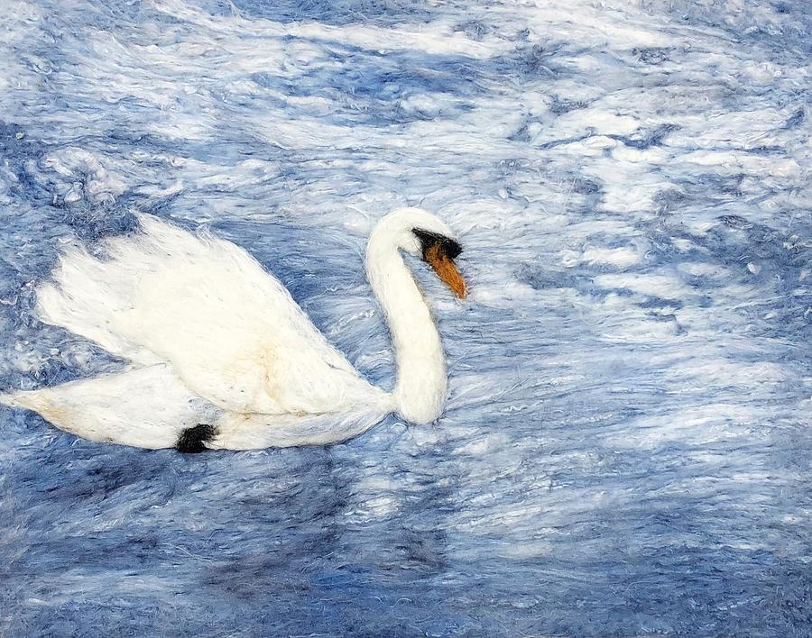Swan by Ushma Sargeant