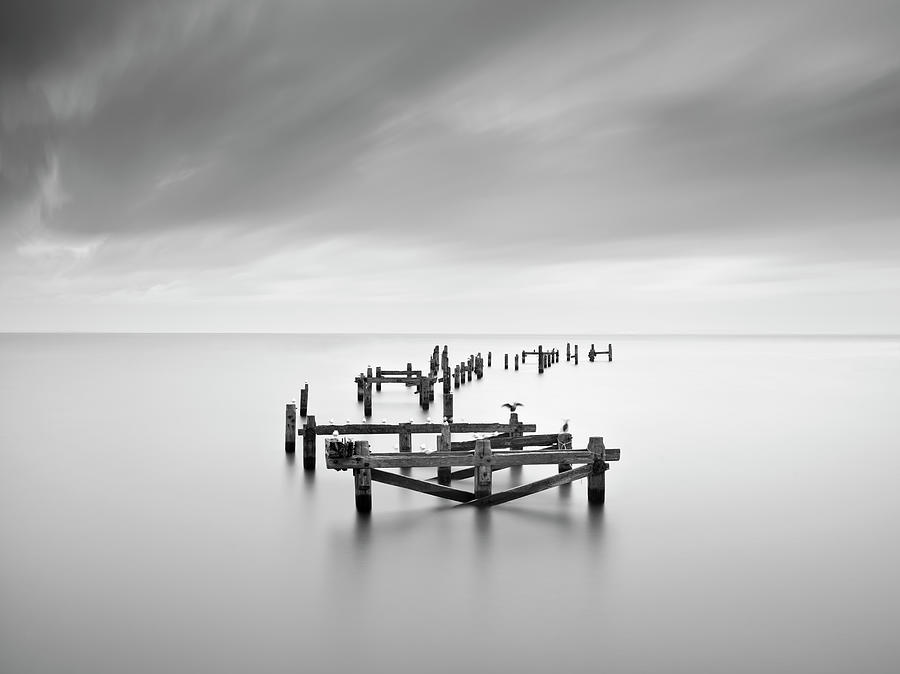 Swanage Old Pier Photograph by Doug Chinnery