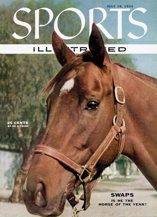 Swaps Is He The Horse Of The Year Sports Illustrated Cover Photograph by Sports Illustrated