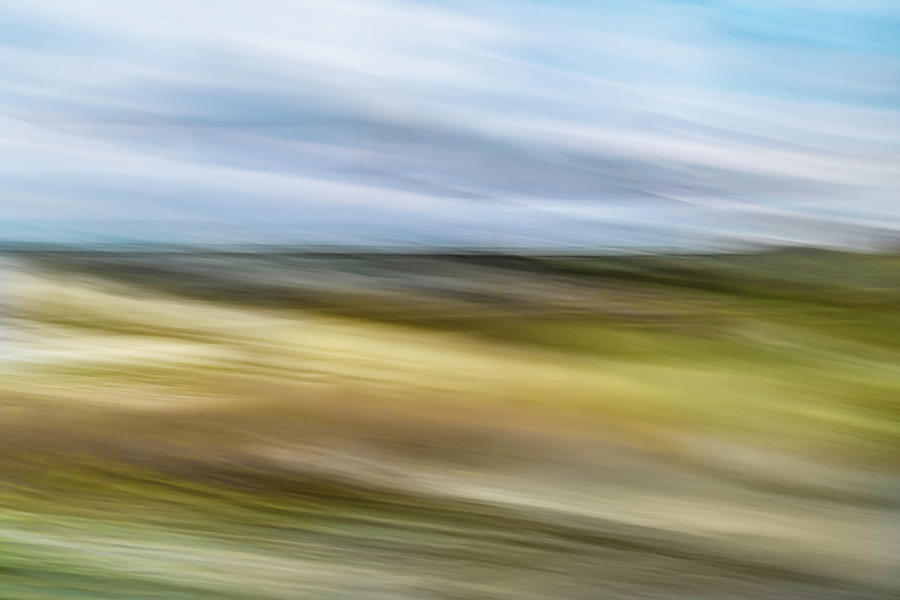 Abstract Photograph - Sweeping Vista by Charles LeRette