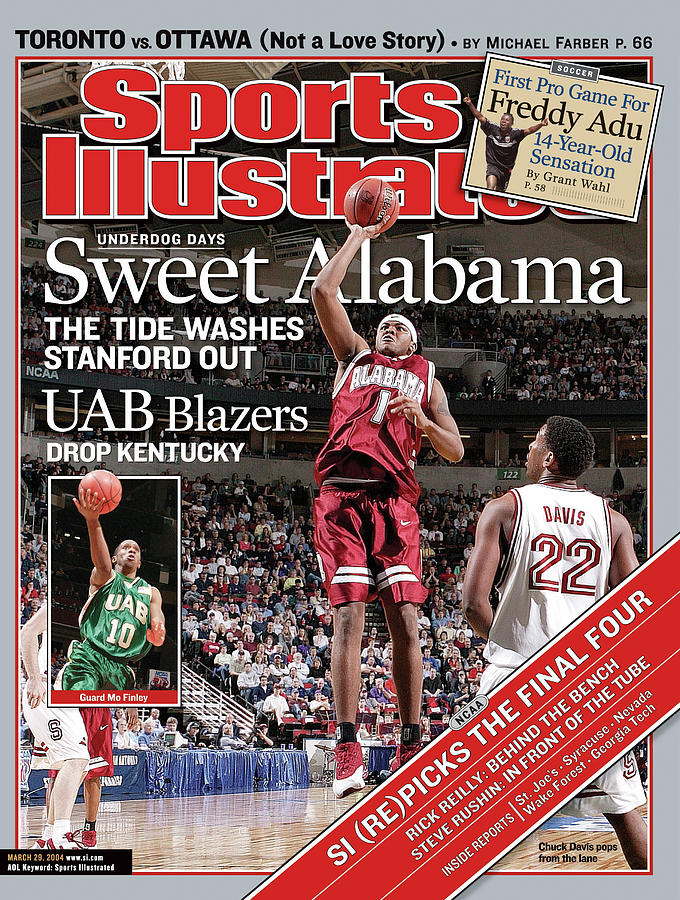 Sweet Alabama The Tide Washes Stanford Out Sports Illustrated Cover Photograph by Sports Illustrated
