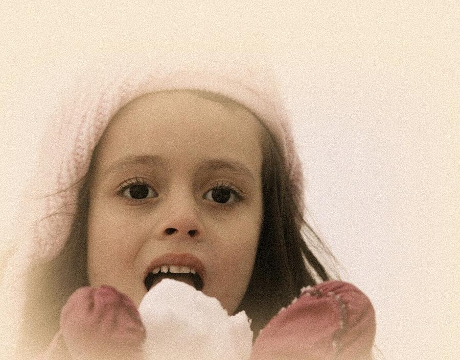 Sweet Angel Face by The Art Of Marilyn Ridoutt-Greene