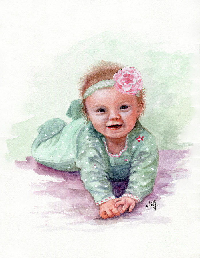 Sweet Baby Girl by Marilyn Smith
