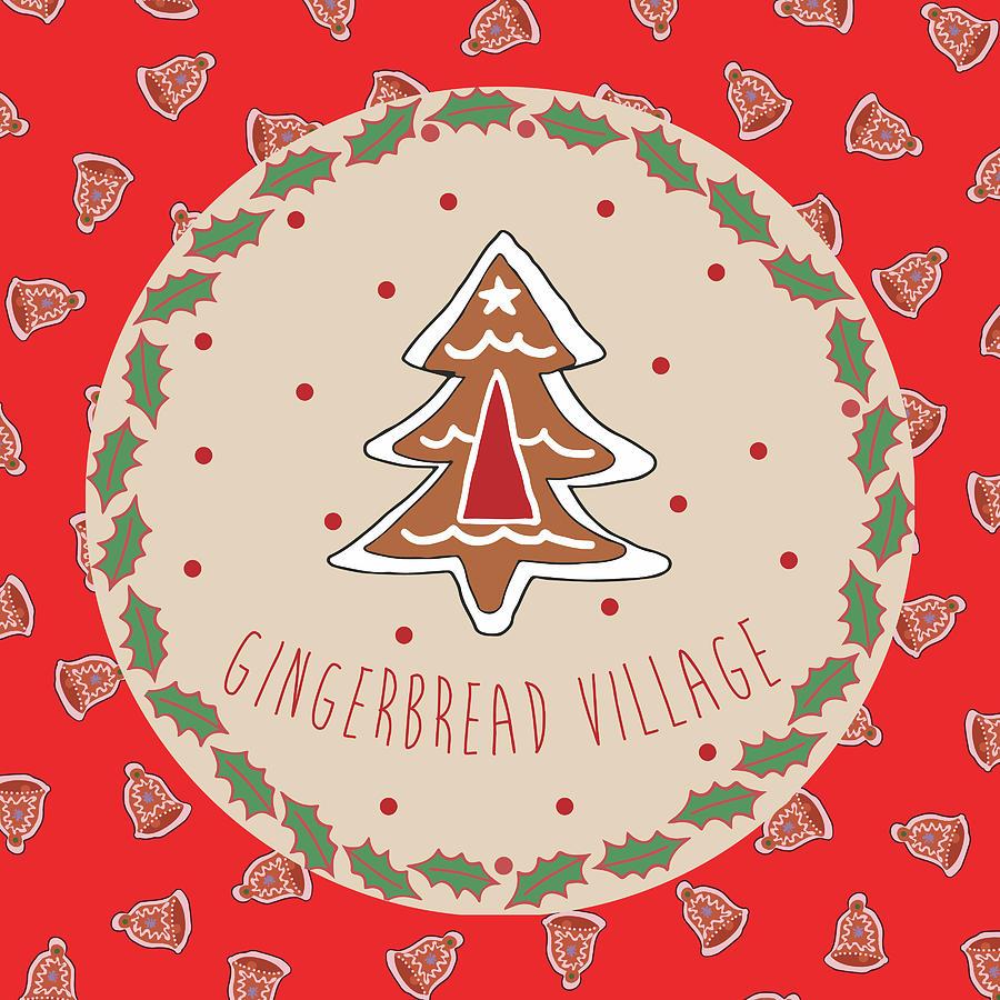 Sweet Mixed Media - Sweet Christmas IIi by Nicholas Biscardi