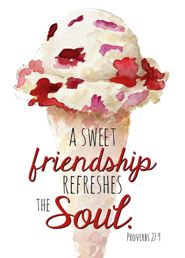 Sweet Painting - Sweet Friendship by Lanie Loreth