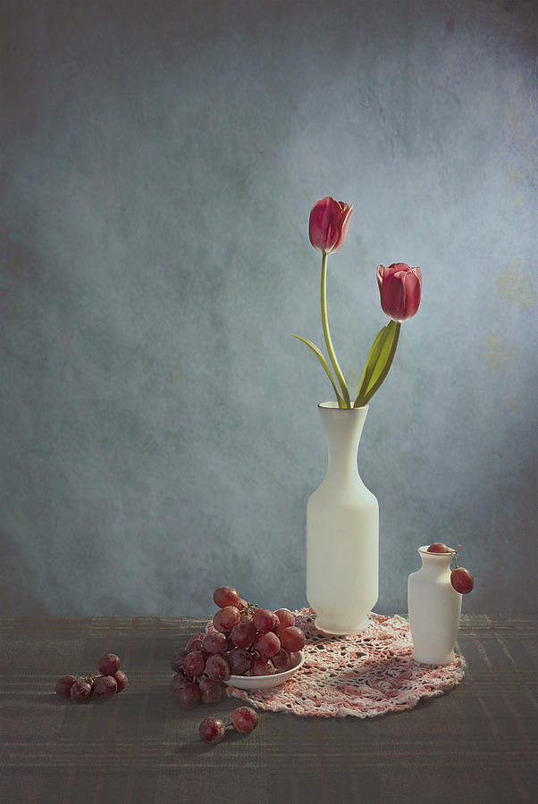 Sweet Photograph - Sweet Grapes by Lydia Jacobs