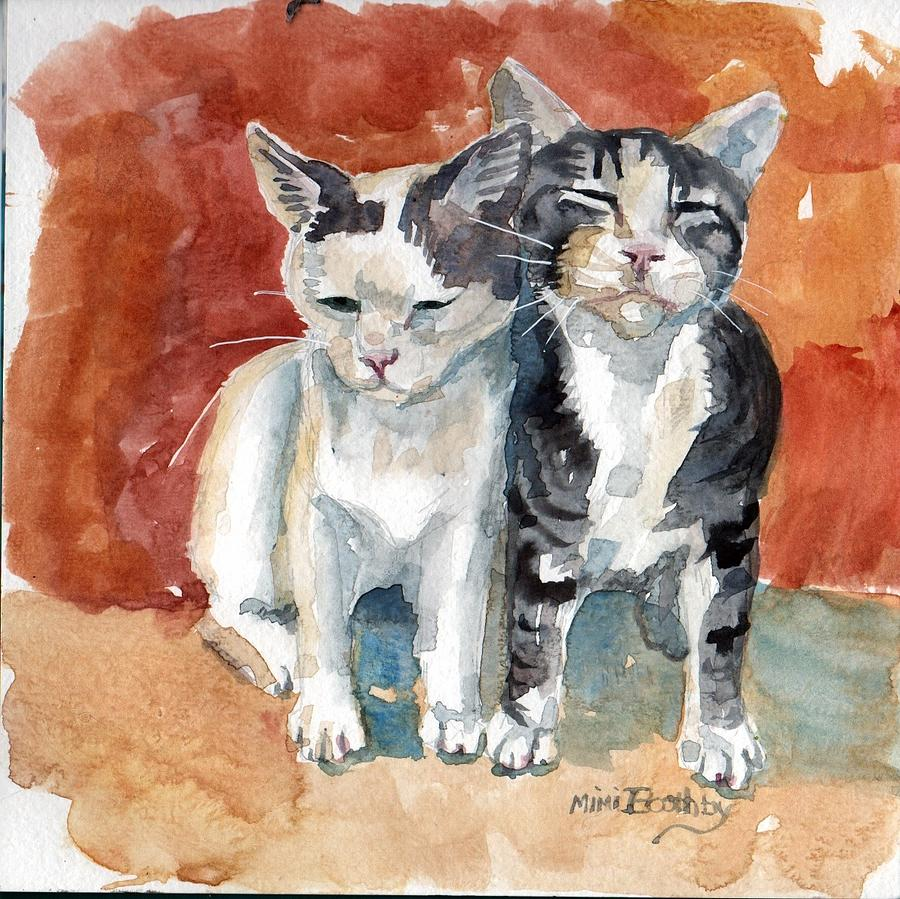 sweet kittens by Mimi Boothby