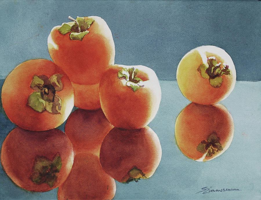 Sweet Persimmons by Sue Zimmermann