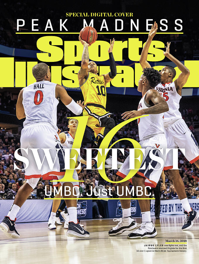 Sweetest 16 Umbc. Just Umbc. Sports Illustrated Cover Photograph by Sports Illustrated