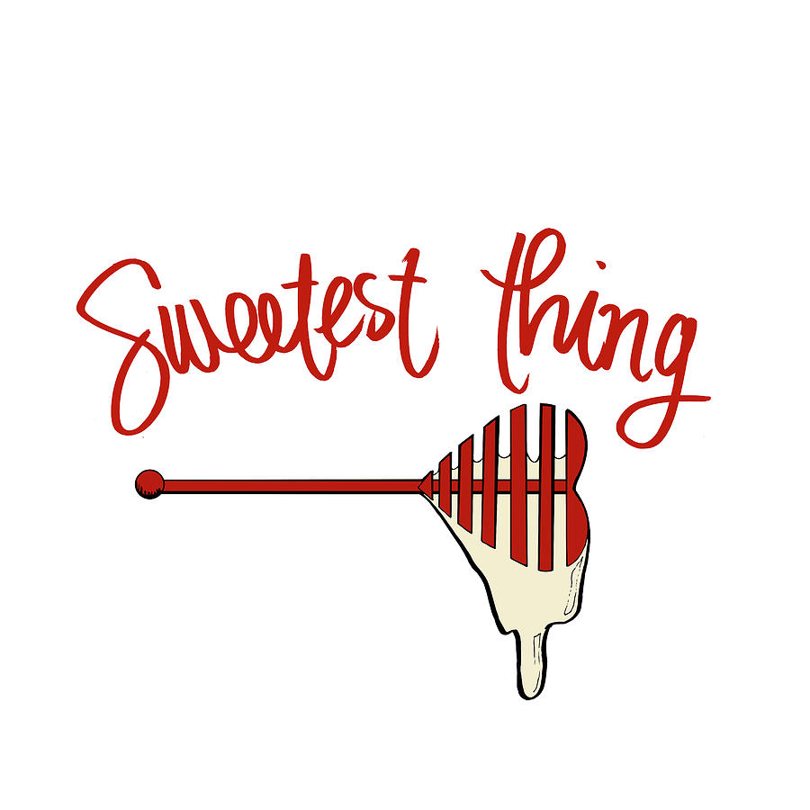 Sweetest Mixed Media - Sweetest Thing by Sd Graphics Studio
