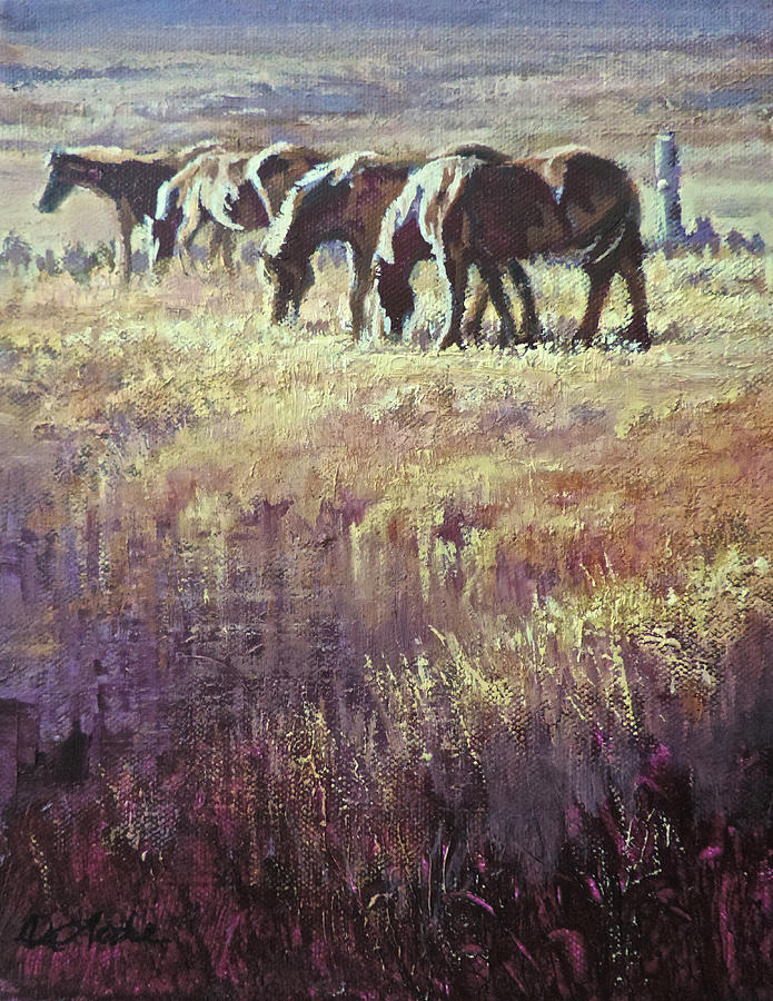 Sweetgrass Painting - Sweetgrass by Mia DeLode