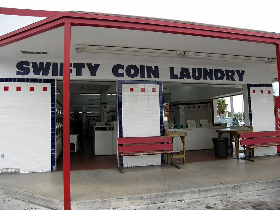 Swifty Coin Laundry Art Photography