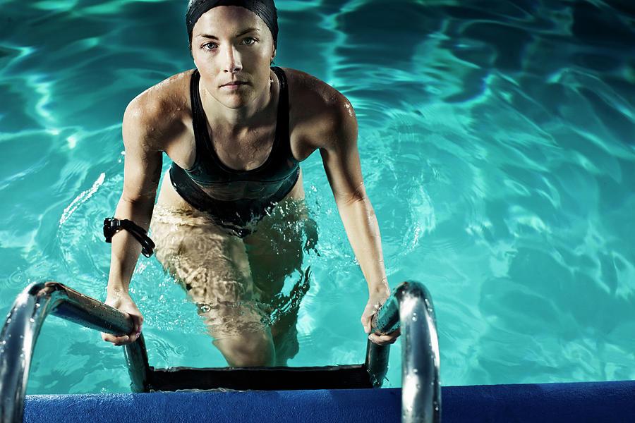 Swimmer Photograph by Patrik Giardino