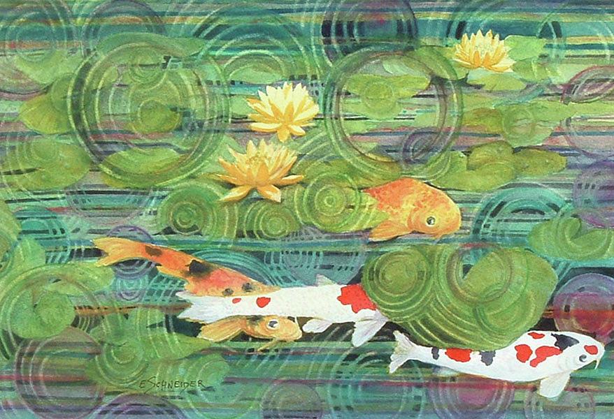 Swimming in circles by Edie Schneider