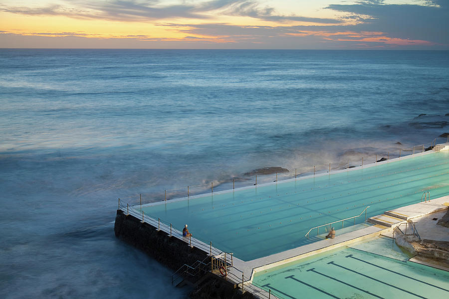 Swimming Pools At Bondi Beach, Before Photograph by Kathrin Ziegler