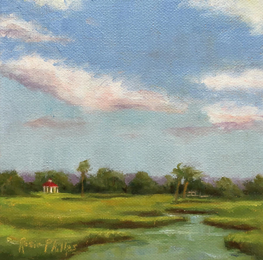 Swinton Creek Drive By Painting by Rosie Phillips