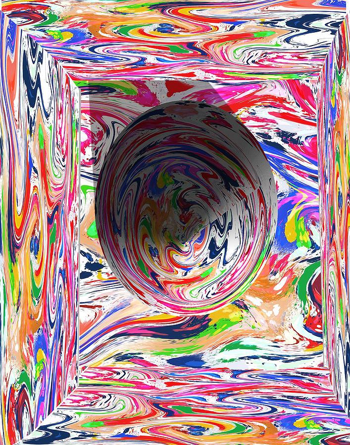 Swirl Cubed by John Carroll