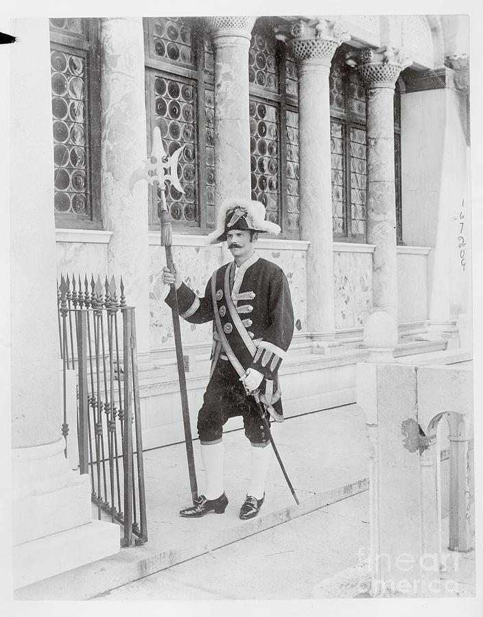 Swiss Guard At St. Marco Church Photograph by Bettmann