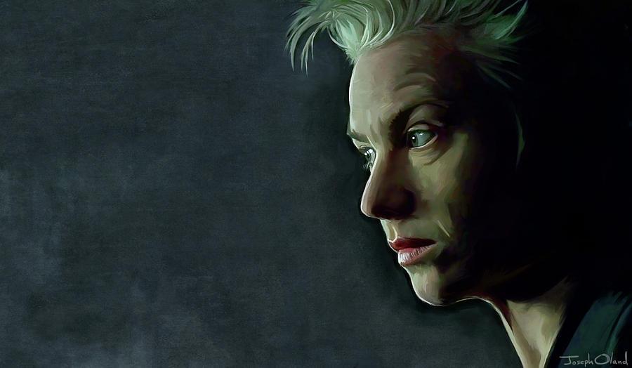 Matrix Painting - Switch - The Matrix Androgyny by Joseph Oland