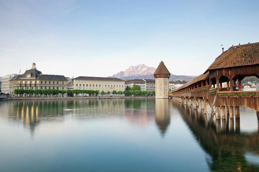 Switzerland, Lucerne, View Of Chapel Photograph by Westend61