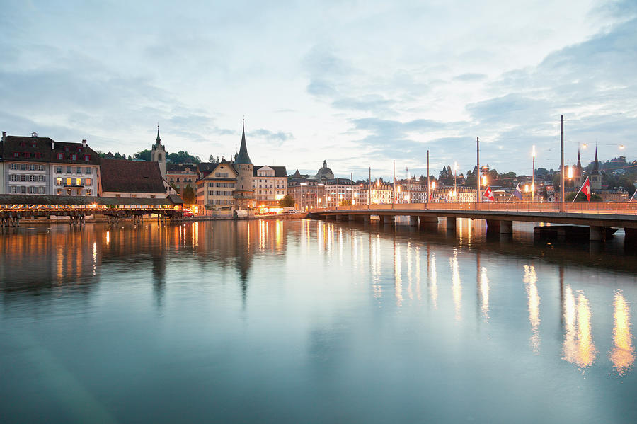 Switzerland, Lucerne, View Of Photograph by Westend61