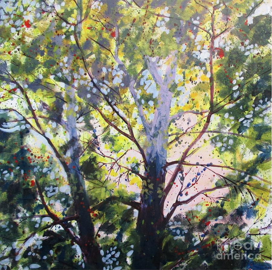Sycamore Painting - Sycamore Inspiration by Larry Lerew