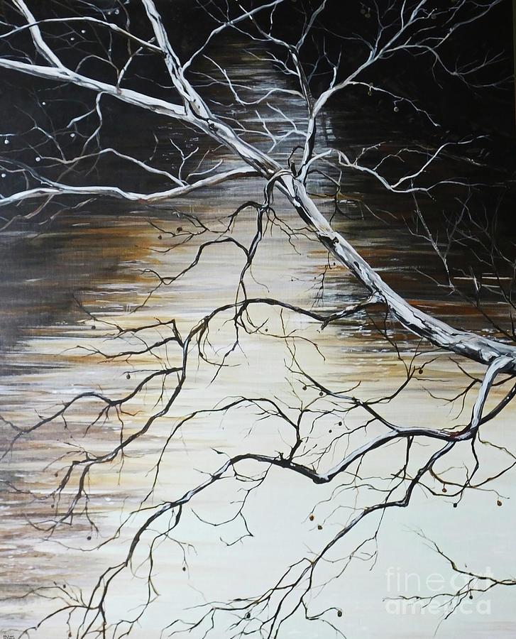 Sycamore on the Wolf by Lizi Beard-Ward